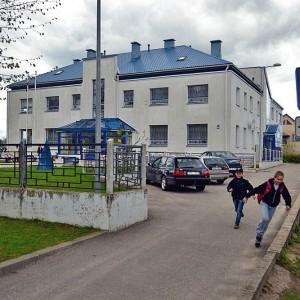 Polska szkoła w Krasławiu na Łotwie.