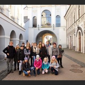 Przy Ostrej Bramie w Wilnie.