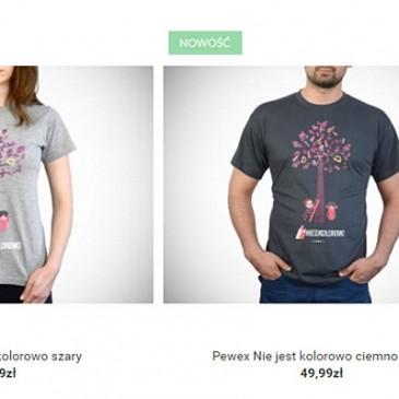 Charytatywne koszulki