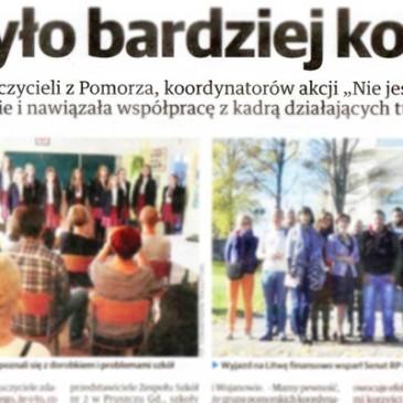 Piszą onas | Dziennik Bałtycki